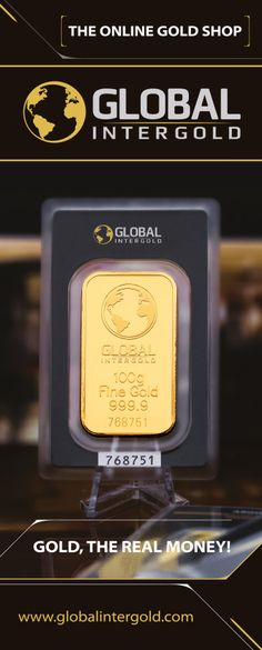 Gold bars from 1 to 100 gram. Online Gold Shopping, Marketing Program, Insight, Investing, Money, Golden Days, Gold Gold, Business, Metals