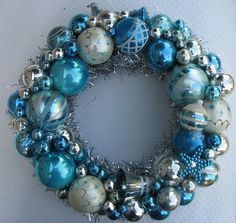 were going with a blue nautical christmas theme so this would be perf decorating - Blue Christmas Theme Decorations