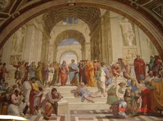 "Raphael: ""The School of Athens"""