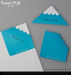 Fusen FUJI / フセンフジ  goodbymarket / グッバイマーケット  付箋 フセン ふせん 富士山 富士 フジ