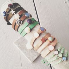 Chunk up your life! Autumn and pastel colours go very well together! Armcandy available at www.bynorr.nl