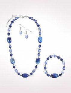 Swirl Bead Jewelry Set