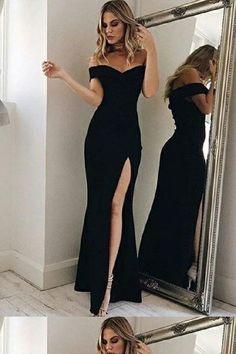 Prom Dresses Mermaid #PromDressesMermaid, Bridesmaid Dresses 2018 #BridesmaidDresses2018, Black Prom Dresses #BlackPromDresses, Black Mermaid Prom dresses #BlackMermaidPromdresses, 2018 Prom Dresses #2018PromDresses