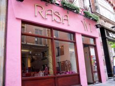 Rasa W1, London, UK.  GREAT Indian food.