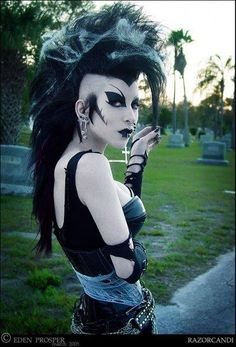 punk goth #gothic #fashion #gothic_fashion #goth