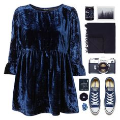 """""""midnight glow"""" by via-m ❤ liked on Polyvore featuring Armand Diradourian, Converse and Starskin"""