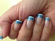 My Greek nails 2. :)