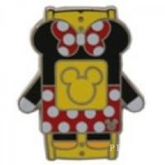 WDW - 2014 Hidden Mickey Series - Character MagicBands - Minnie Mouse - Pin 102262