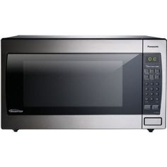 Panasonic 2.2 cu ft Microwave Oven, Stainless, Silver