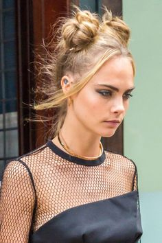 17 of the best celebrity messy buns, for all your up-do hair inspiration needs: