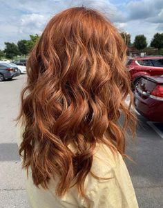 Rich copper hair color # auburn hair copper 60 fresh spring hair colors …, re … - Modern Ginger Hair Color, Hair Color And Cut, Ginger Hair Dyed, Haircut And Color, Hair Color Auburn, Natural Auburn Hair, Long Auburn Hair, Brown Auburn Hair, Teal Hair