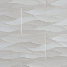 Idole Tear Gray Ceramic Tile - 12 x 24 - 100192913