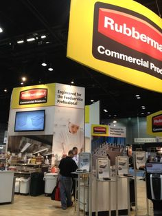 Wordless Wednesday: #Rubbermaid Commercial Products at the 2013 #NRAShow