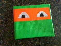 Ninja Turtle Duct Tape Wallet