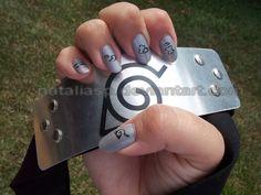 NARUTO NAILS - Căutare Google Naruto Nails, Usb Flash Drive, Silver Rings, Nail Art, Nail Ideas, Jewelry, Google, Anime, Jewlery