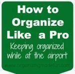 Organizing Made Fun: Organizing Ideas