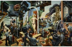 Peabody Essex Museum presents first major Thomas Hart Benton exhibition in more than 25 years