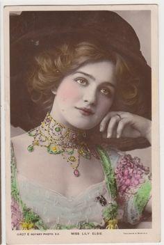 amadeacordula:  Miss Lily Elsie…