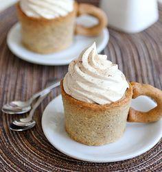 coffee cake cupcakes <3