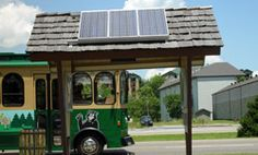 FunTime Trolley - The Pigeon Forge and Sevierville Trolley system were established to bring mass transit to the two cities for the purpose of helping to keep the Smoky Mountain air clean for locals and visitors alike.