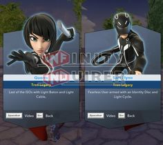 Through an update of the PC version, Sam Flynn and Quorra from Tron: Legacy were confirmed as the final figures in Disney Infinity 2.0 Edition. They'll be released some time in 2015, and a software update will be required before they're purchased at retail.