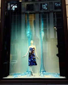 "BERGDORF GOODMAN, New York City, USA, ""Oh Lord...... It's behind me... Isn't it?"", photo by Celina Leung, pinned by Ton van der Veer Visual Display, Store Windows, Bergdorf Goodman, Visual Merchandising, New York City, Lord, Ballet Skirt, Van, Concert"