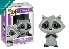 Préco - Disney Funko Pop Meeko - Funko POP!/Pop! Disney - Little Geek