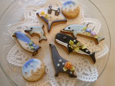 ☆ 893 ☆ images of three-dimensional plate of cookies cookies ☆ Korean stars | ☆ cookies Atelier megmog ☆ icing cookies and stereoscopic 3D c ...
