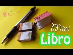 Como hacer un Mini Libro reciclado!