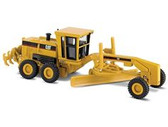 CAT 160H Motor Grader Diecast Model Motor Grader by Norscot 55127 This CAT 160H Motor Grader Diecast Model Motor Grader is Yellow and features working wheels. It is made by Norscot and is 1:87 scale (approx. 9cm / 3.5in long). #Norscot #ConstructionModel #CAT