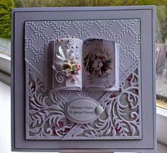 Debbie Stevens card - the little book is so cute!