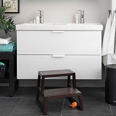 Till Tvättställ och badrumsskåp