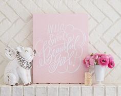 Sweet Beautiful Girl by Lindsay Letters // GORGEOUS!!!