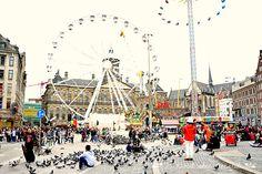 Amsterdam - Dam Square www.aruralchiclifestyle.com Dam Square, Amsterdam Travel, Times Square, Trips, Viajes, Traveling, Travel