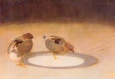 Two Chicks With A Tin Plate By Jan Mankes Wall Art from Beverly A Mitchell. Choose From Print or Oil on Canvas Reproduction on all Artwork. A4 Poster, Poster Prints, Art Prints, Dutch Painters, Plate Art, Dutch Artists, Vintage Artwork, Museum Of Modern Art, Western Art