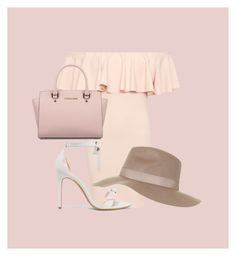 """Summer date."" by allymarissa ❤ liked on Polyvore featuring WearAll, Topshop, Alexandre Birman and Michael Kors"