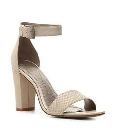 45 Pairs Of Walkable, Low-Heeled Sandals At Every Price: May Nubuck Sandal, $69.95, Tahari, dsw.com