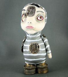 Michael Steampunk Souls Art Doll - Art of Michelle Lynch