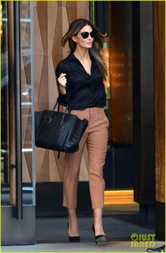 polished enough for the office, modern enough for the streets. miranda kerr