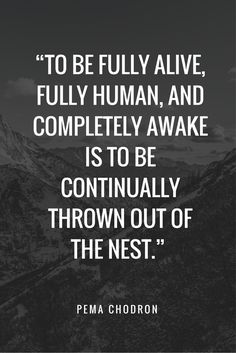 // Continually thrown out of the nest ~