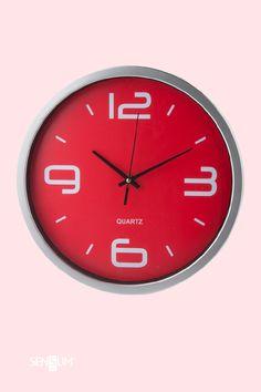 Gadżety Reklamowe Sensum Art Quartz, Clock, Wall, Home Decor, Watch, Walls, Interior Design, Clocks, Home Interior Design