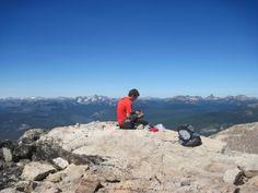 Windy Peak, Okanogan County, Washington with Morgan
