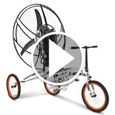 Watch The First Flying Bicycle in action