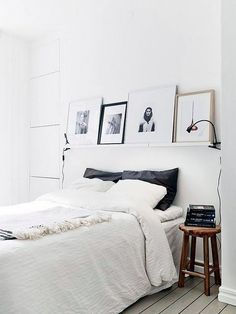 I wish my side of the room looked like this. On that note, I wish I actually had my own side of the room. #1bed3sisters