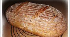 Predcesto:   100g LM kvásku (ja mám z polohrubej múky)   100g polohrubej pšen.môky   50g vody     Cesto:   300g hladkej pšen.múky 00... Baked Potato, Potatoes, Bread, Baking, Ethnic Recipes, Food, Potato, Brot, Bakken