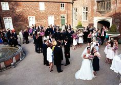 Fulham Palace Wedding Party in full swing!