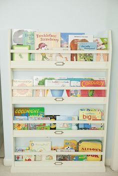 I need some Book Storage idea's for Mikayla's room. :/