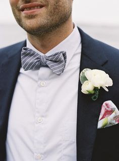 bow tie / Style Me Pretty | Gallery