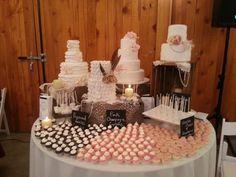 Dessert table Anticipated Creations