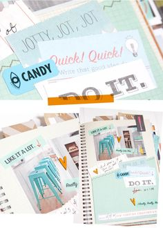Smash Book pages by Craft Warehouse